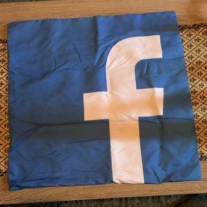 Facebook Logo Pillow Cover